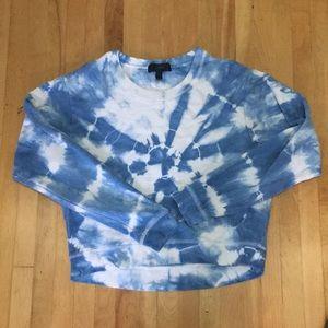 J. Crew Tie Dye Sweatshirt